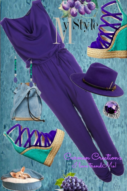 "Journi's Millennial Purple Outfit 5 ""For Contest"""