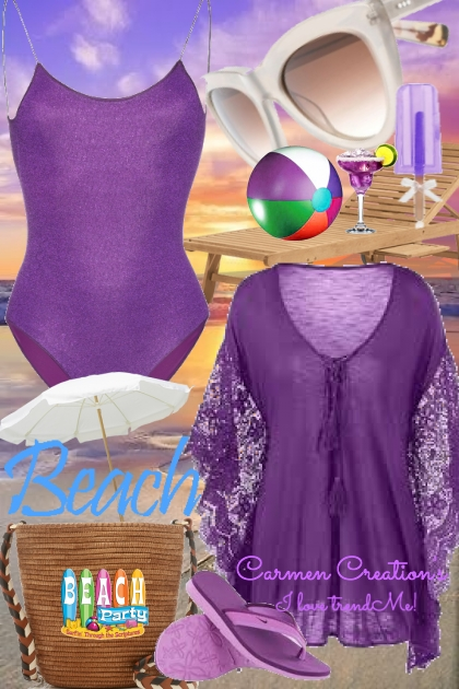 "Journi's Millennial Purple Outfit 10 ""For Contest"""