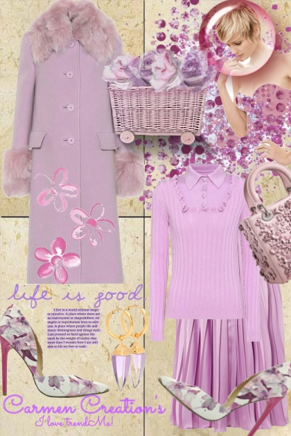 """Journi's Millennial Purple Outfit 11 """"For Contest"""""""