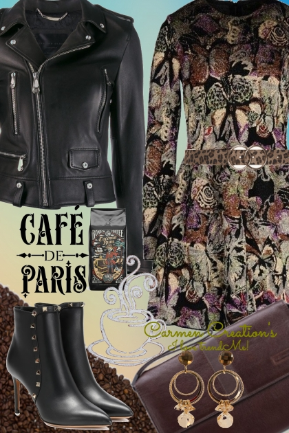 Journi's Meet Me At The Cafe Outfit