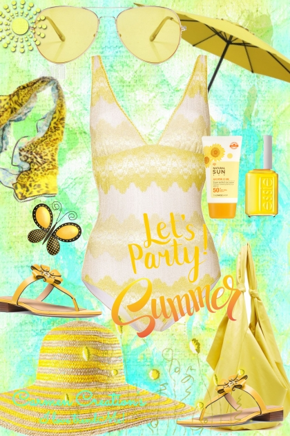 Journi's Let's Party Summer Vacation Outfit