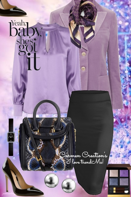 Journi's Meeting With The Book Publisher Outfit- Fashion set