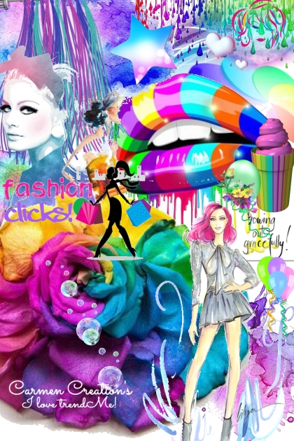 """Journi's Millennial Purple Art Expression """"FC"""""""