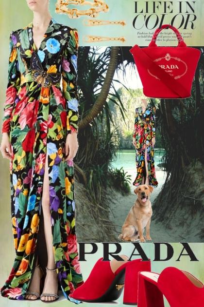 Journi's Prada Outfit