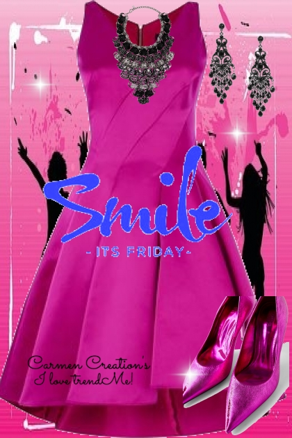 Journi's Smile Its Friday My Party Outfit
