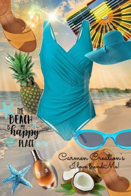Journi's Beach Day At Long Beach Outfit- Fashion set