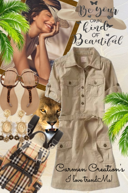Journi's Summer Safari Explorer Outfit