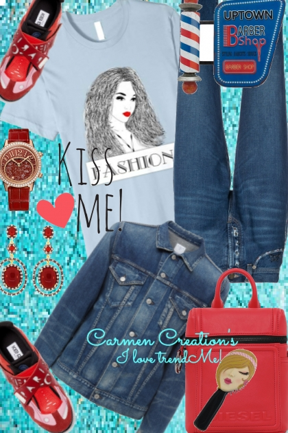 Journis Girly Kiss Me Fashion Outfit