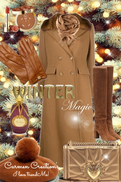 journi's Winter Magic Outfit