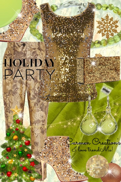Journi's Holiday Party Outfit- Fashion set