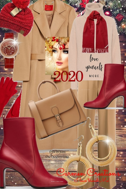 Journi's 2020 Love Yourself More Winter Outfit