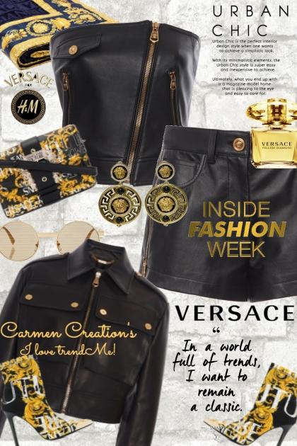 Journi's Versace Runway Urban Chic Outfit