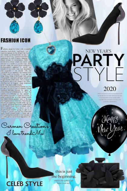 Journi's New Year Celeb Style Party Outfit