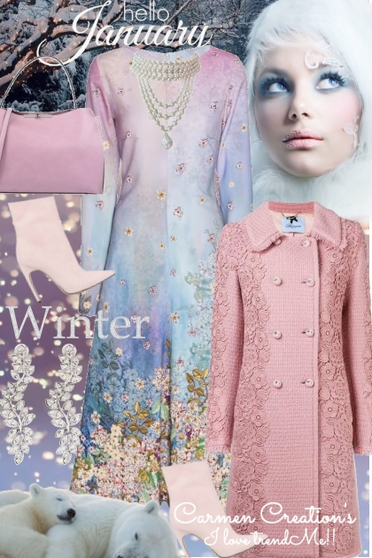 Journi's Princess Hello January Winter Outfit- Combinazione di moda