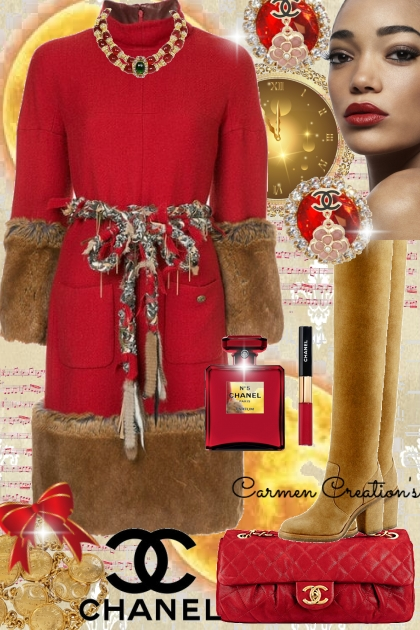 Journi Winter Elegant Chanel Vintage Outfit