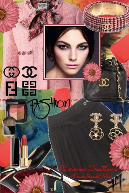 Journi's Chanel Fashion Outfit- Combinaciónde moda