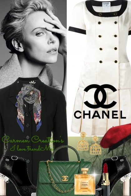 Journi's Chanel Sales Associate Outfit