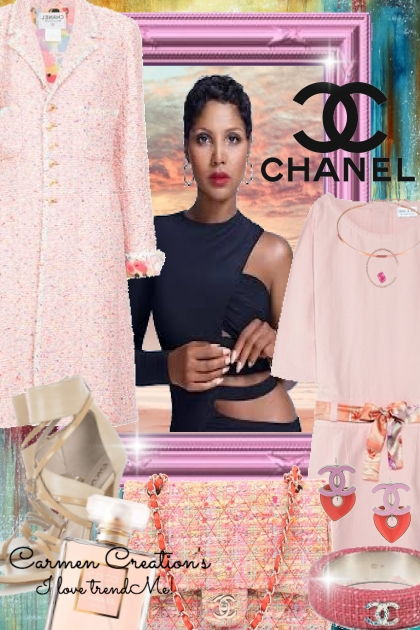 Journi's Chanel Spring Pink Outfit