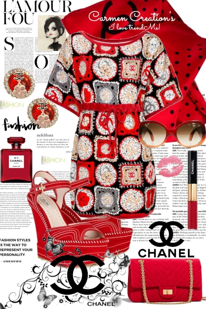 Journi's Chanel Summer Red Outfit