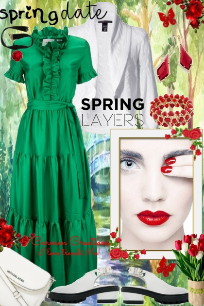 Journi's Spring Date Spring Layers Outfit
