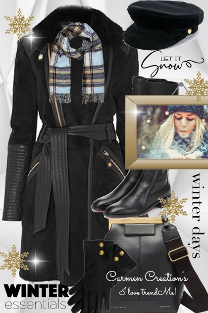 Journi's Let It Snow Winter Days Outfit- Fashion set