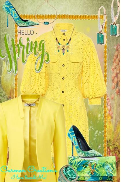 Journi's Hello Spring Fashion Mogul Outfit
