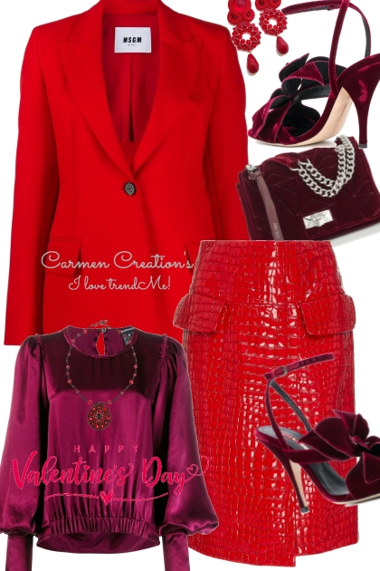 Journi Happy Valentine Day Outfit
