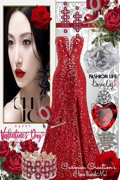 Journi Chic Happy Valentine's Day Outfit