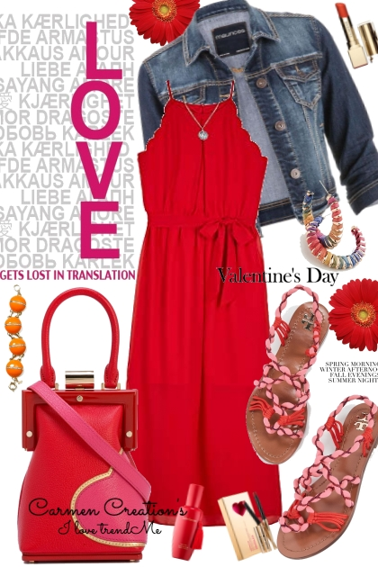 Journi Love Valentine's Day Outfit