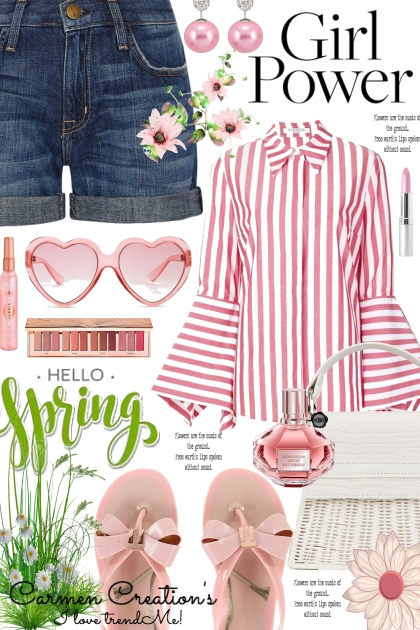 Journi Hello Spring Girl Power Outfit