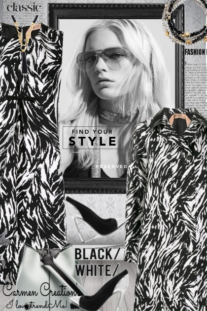 Journi Black And White Find Your Style