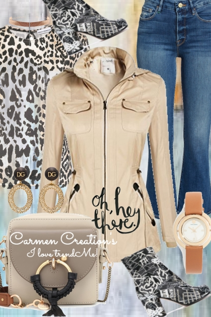 Journi Animal Print Summer Outfit