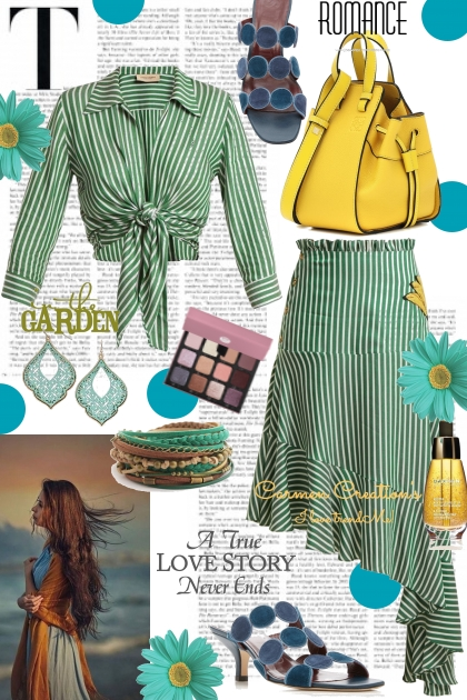 Journi The Garden Romance Outfit