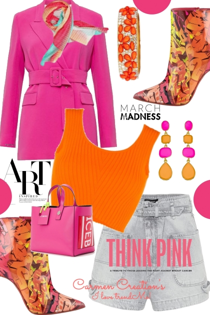 Journi Think Pink Art  Outfit