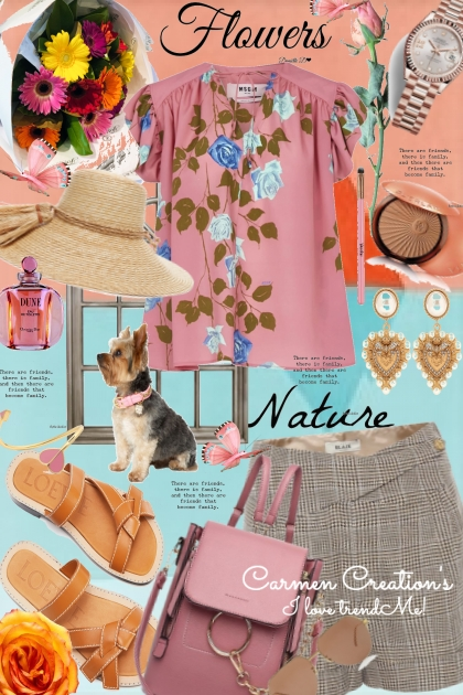 Journi Flowers & Nature Outfit