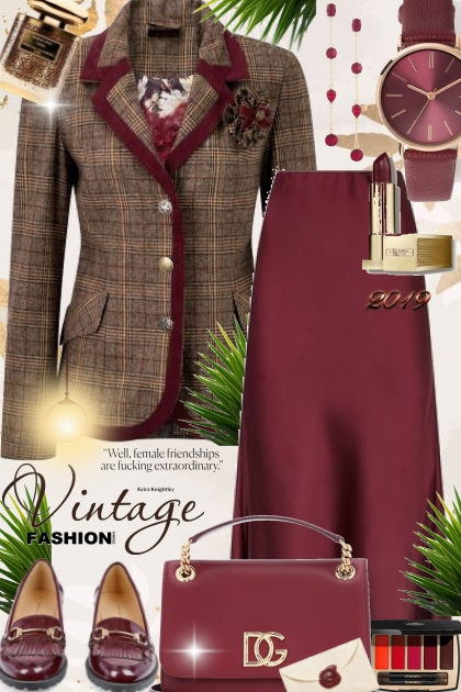 Journi Vintage Fashion Outfit