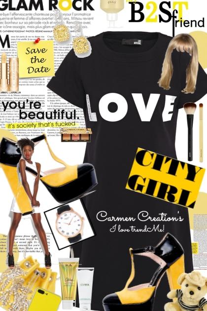Journi Love City Girl Outfit- Modekombination