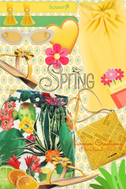 Journi Spring Yellow Outfit