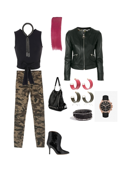 Inverted triangle edgy weekend