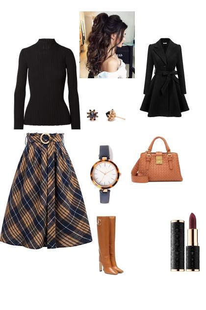 Rectangle lady workwear