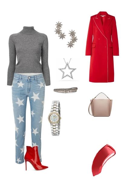 Inverted triangle fashion forward weekend