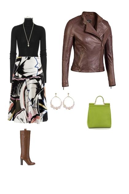 Inverted triangle fashion forward work