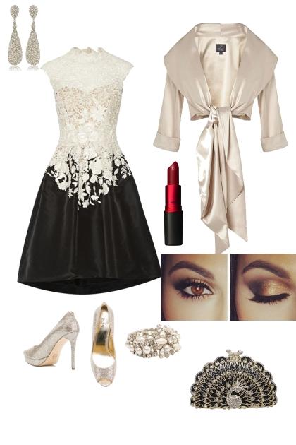 Rectangle shape glamorous evening wear