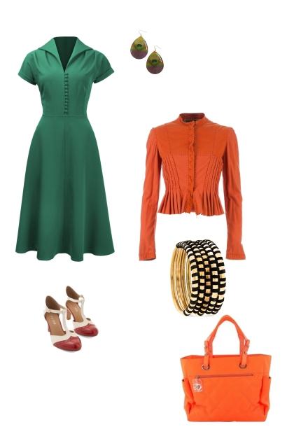 Pear shape retro workwear