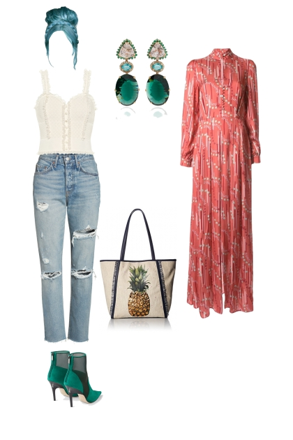 Eccentric rectangle weekend wear