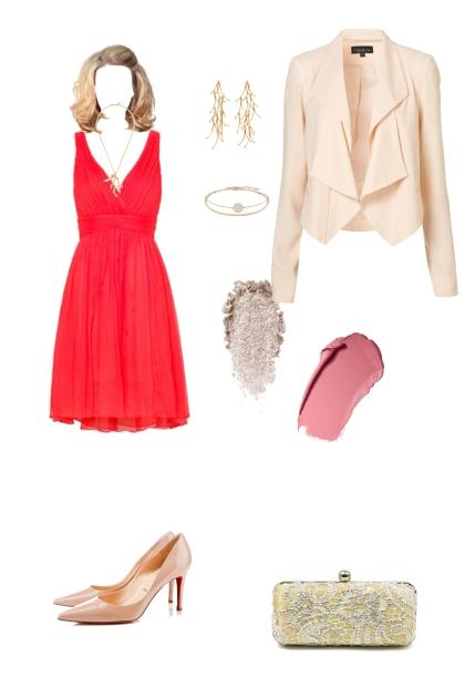 Light summer evening wear- Fashion set
