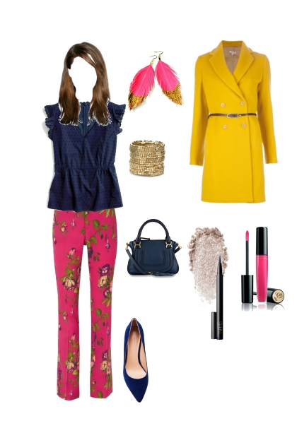 Bright winter everyday wear- Fashion set