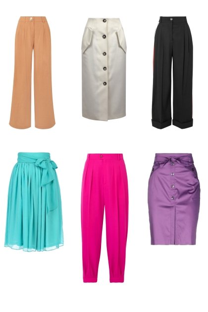 pants and skirts- Fashion set
