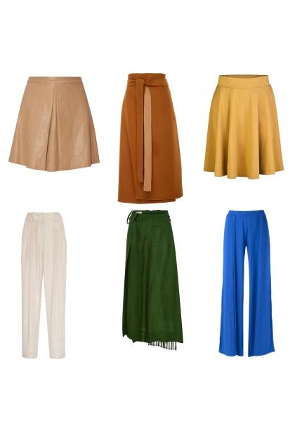 skirts and pants fall