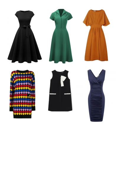 dresses for winter